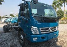 Liên hệ 096.96.44.128 Bán ô tô Thaco OLLIN 720 E4 Chassi 2019, màu xanh dương giá tốt