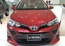 Bán xe Toyota Vios 1.5E CVT sản xuất 2021, màu đỏ, giá tốt