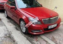 Cần bán Mercedes C250 đời 2011, màu đỏ, 625 triệu
