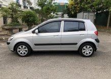 Cần bán Hyundai Getz 1.4 AT 2008, màu bạc, nhập khẩu nguyên chiếc
