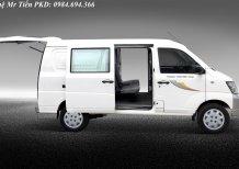 Xe Thaco Towner tải Van 2 chỗ, 5 chỗ tải trọng 490kg nâng tải 945kg vào phố hỗ trợ trả góp