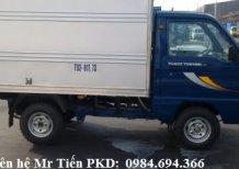 Xe tải nhỏ Thaco 5 tạ nâng tải 9 tạ các loại thùng lửng, bạt, kín, trả góp từ 60tr