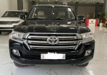 Bán Toyota Land Cruiser VX 4.6 V8 2016, màu đen, xe siêu mới, biển Hà Nội