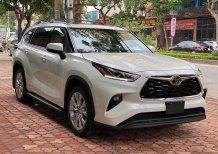 Bán ô tô Toyota Highlander Limited 2020, màu trắng, xe nhập Mỹ - Giá tốt