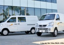 Xe tải Van Thaco Towner 2 chỗ, 5 chỗ ngồi tải 490 nâng tải 750 và 945 kg vào phố