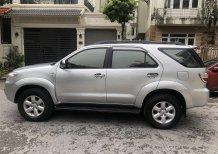 Gia Hưng Auto bán xe Toyota Fortuner 2.5G màu bạc máy dầu sx 2009