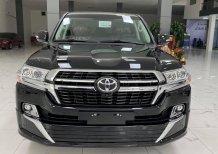 Bán Toyota Land Cruiser 4.6 V8, màu đen, nội thất nâu 2021, xe giao ngay.