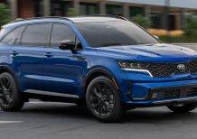 Cần bán xe Kia Sorento 2.5 2020, màu xanh lam, nhập khẩu nguyên chiếc
