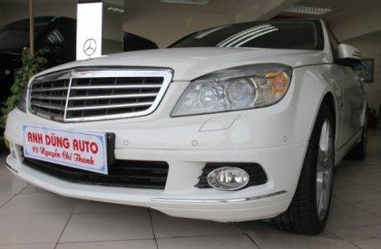 Cần bán gấp Mercedes C250 sản xuất 2010, màu trắng, số tự động