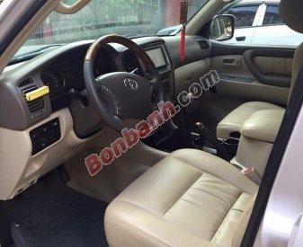 Cần bán gấp Toyota Land Cruiser đời 2004, màu bạc, nhập khẩu, số sàn