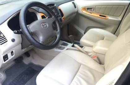 Toyota Innova V năm 2010, màu đen, số tự động