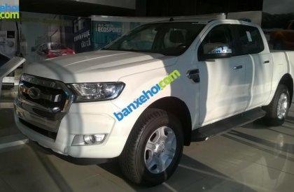 Bán Ford Ranger XLT đời 2015, màu trắng, nhập khẩu