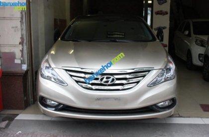Bán ô tô Hyundai Sonata đời 2010, màu vàng, nhập khẩu nguyên chiếc chính chủ, giá chỉ 750 triệu