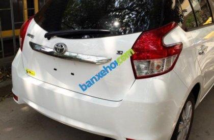 Bán Toyota Yaris G đời 2015, màu trắng, xe nhập