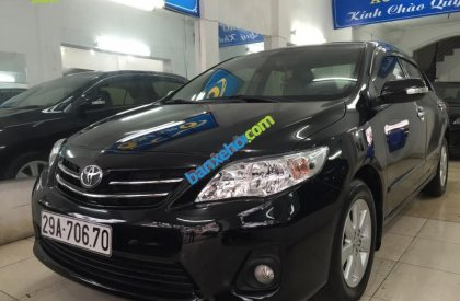 Bán Toyota Corolla altis 1.8G AT đời 2013, màu đen