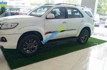 Cần bán Toyota Fortuner 2.7 TRD đời 2016, màu trắng