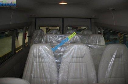 Bán Ford Transit Luxury đời 2016, màu bạc, giá chỉ 855 triệu