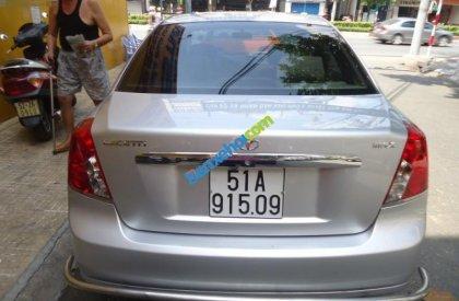 Bán ô tô Daewoo Lacetti đời 2005, màu bạc, nhập khẩu số sàn