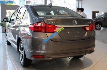 Cần bán Honda City CVT 1.5AT đời 2015, màu nâu, giá tốt