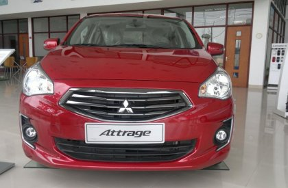 Bán xe Mitsubishi Attrage CVT đời 2016, khuyến mại lớn lên đến 25 triệu đồng