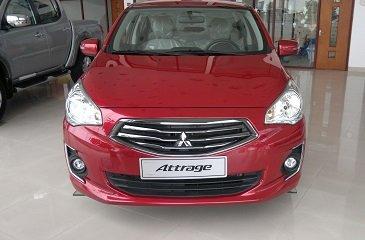 Cần bán Mitsubishi Attrage MT màu đỏ sản xuất 2016, nhập khẩu nguyên chiếc, giao xe ngay, thủ tục nhanh gọn