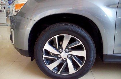 Cần bán xe Mitsubishi Outlander Sport GLS 2015, màu xám, nhập khẩu nguyên chiếc, 992 triệu