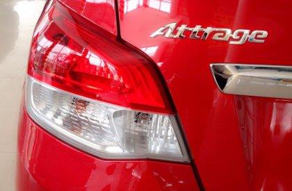 Mitsubishi Attrage CVT 1.2L sản suất 2015 màu đỏ giao xe ngay, liên hệ để được giá tốt nhất