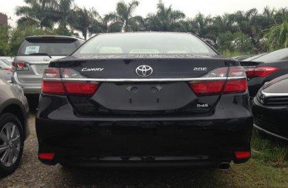 Bán ô tô Toyota Camry 2.0 E năm 2015, màu đen, nhập khẩu