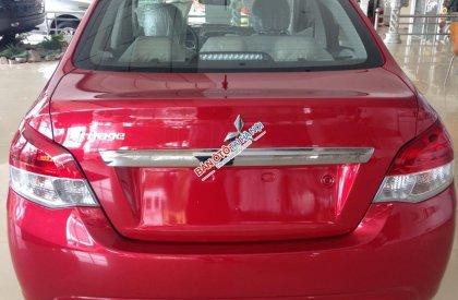 Cần bán xe Mitsubishi Attrage CVT 1.2 đời 2015, màu đỏ, nhập khẩu