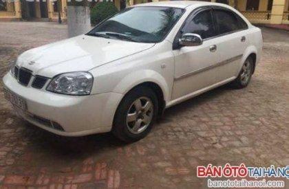 Cần bán gấp Daewoo Lacetti SE 2004, màu trắng, chính chủ