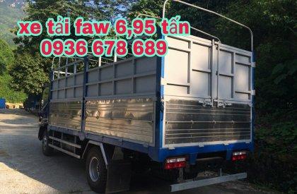 Xe tải FAW 6,95 tấn chính hãng, thùng dài 5m, cabin Isuzu hiện đại, giá tốt nhất