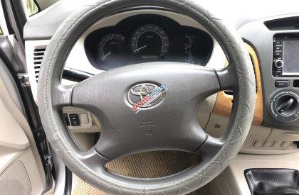 Cần bán xe Toyota Innova 2.0G đời 2011, màu bạc, chính chủ cán bộ huyện Sóc Sơn