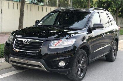 Hyundai SantaFe 2.0AT Diesel năm 2012, màu đen