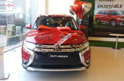 Bán xe Mitsubishi Outlander 2.0 CVT Premium năm sản xuất 2019, màu đỏ giá cạnh tranh