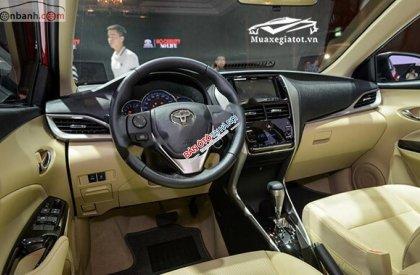 Bán Toyota Vios 1.5G đời 2019, màu vàng